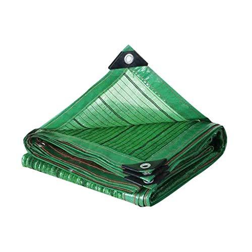 CHGDFQ Paño de protección solar de la Red de sombreado verde, Red de aislamiento del jardín del tejado, Red de enfriamiento del jardín de la planta de la flor, Sitio de construcción Paño de malla de m