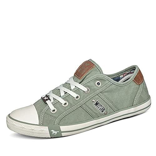 MUSTANG Damen 1099-302-750 Sneaker, Grün (pastellgrün 750), 39 EU