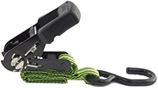 PROGRIP 03603 Truck and Trailer Heavy Duty Cargo Tie Down Winch Strap with Flat Hook 30 x 4 30/' x 4