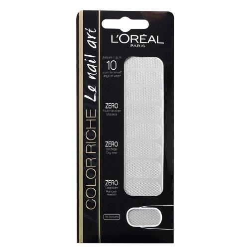 L'Oréal Paris Color Riche Stickers pour ongles 012 Diamant eterne, pack de 1 (1 x 1 pièce)