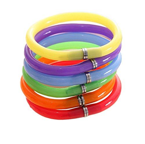 Jungen Creative siliconeplastic pulsera pulsera elegante bolígrafo, 10unidades (Random Color)
