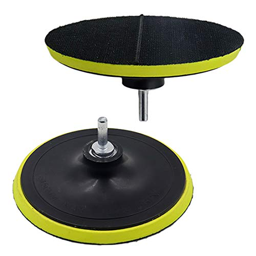 Cheapest Prices! ZXHAO 6 inch Hook & Loop Backing Pad Orbital Sander Polisher Sanding Pad w M14 Dril...