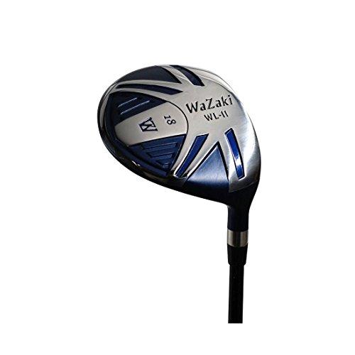 wazaki Japan WL-II MatrixSteel USGA PGA Golfschläger Fairway Holz Golfschläger Schlägerhaube 18 Grad Rechtshänder Steif Flex