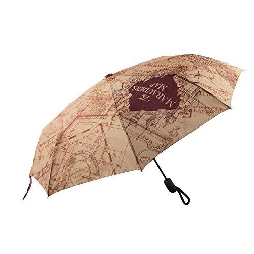Cinereplicas Harry Potter - Regenschirm Die Karte des Rumtreibers - Offizielle Lizenz