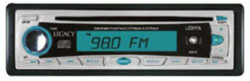 Legacy LCD17A AM/FMMPX CD Player with Detachable Face