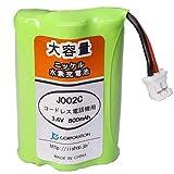 パナソニック KX-FAN50 / HHR-T404 対応 コードレス子機用 ニッケル水素互換充電池