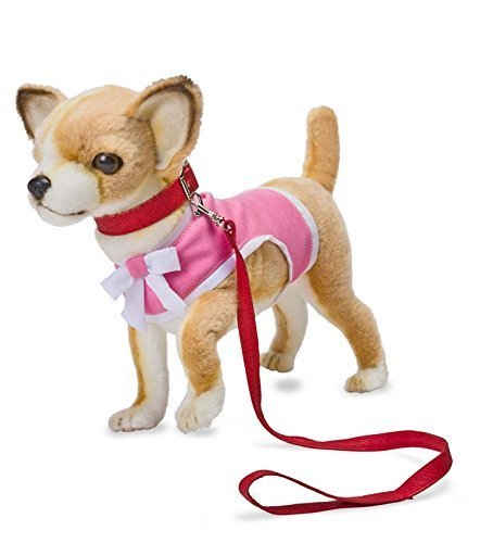 Plush Chihuahua, in Tan by Hansa Toys USA