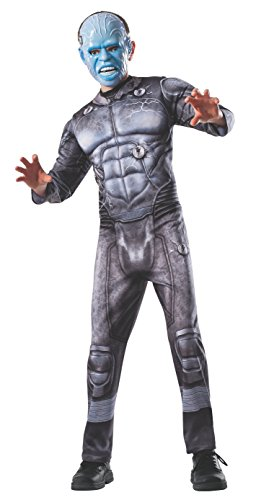 Spider-Man Electro Kostüm für Kinder - Large / 140-152cm