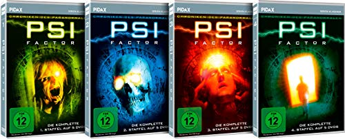 PSI Factor - Gesamtedition / Die komplette Mystery-Kultserie auf 20 DVDs (Pidax-Serien-Klassiker)