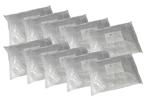 Inline Tube 10 Pack Clear Plastic Temporary Universal Disposable Car Cover Rain Dust Garage
