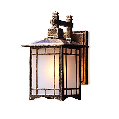 BUYAOBIAOXL Lámpara de Pared Wall Lamp Vintage Apliques de Pared Retro Metal Industrial Bañadores de Pared Lámpara de Pared Ajustable Lámpara de luminaria Apliques Pared (Color : Brass)
