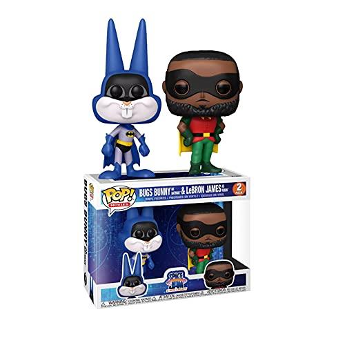 Funko Pop Movies: Bugs Bunny As Batman & Lebron James As Robin 2...