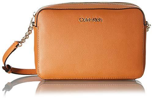 Calvin Klein CAMERA BAG, Borsa per fotocamera. Donna, Marrone, 28 Inches, Extra-Large