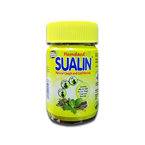 Hamdard New Sualin Natural Cough & Cold Remedy Goodness Of Natural Herbs 60 Tab