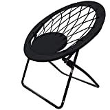 Impact Canopy 460060002-VC Web Folding Bungee Chair, Black