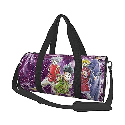 Anime Gym Bag Unisex Grande Caity Portátil Menger Travel Weekender Duffel Bolsa de deporte para hombre y mujer