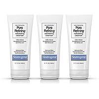3-Pack Neutrogena Pore Refining Exfoliating Facial Cleanser