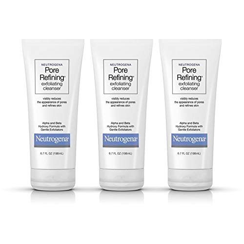 Neutrogena Pore Refining Facial Cleanser with Glycolic Acid