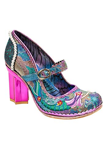 Irregular Choice Mer Magic Pink Mermaid Heel Size 6.5