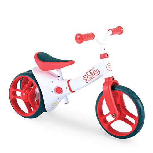 Yvolution Y Velo Twista Baby Balance Bike   Walking Bicycle with Adjustable Wheels and Seat   18+ months