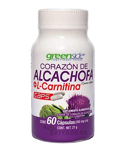 Corazón de Alcachofa + Carnitina 60 caps Greenside