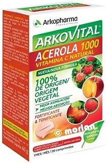 Arkopharma Arkovital Acerola 1000 Vitamina C Fortificante&Tonificante Comprimidos. 30Uds
