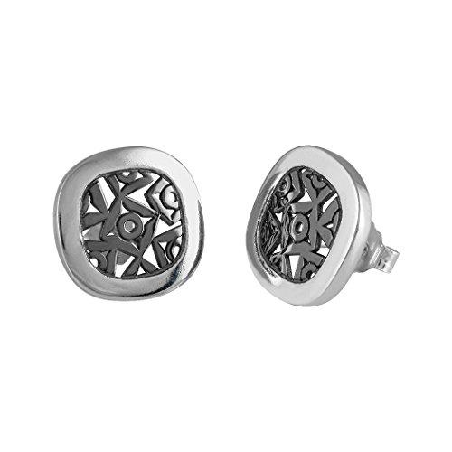 Pendientes Queka plata Ley 925m colección Anouska [AA0857]