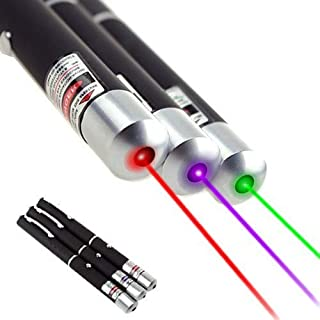 DMOHLINK Three Pens: Red, Green, Blue Ultra-Bright Outdoor Camping Lighting Supplies