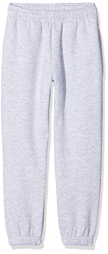Fruit of the Loom Jungen Premium Elasticated Cuff Jog Pants Kids Sporthose, Grau (Heather Grey 123), 164 (Herstellergröße: 14-15)