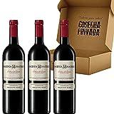 Hacienda Monasterio - Envío Gratis 24h - 3 Botellas - Vino Tinto - Vino Regalo - DO Ribera del Duero- Seleccionado y enviado por Cosecha Privada