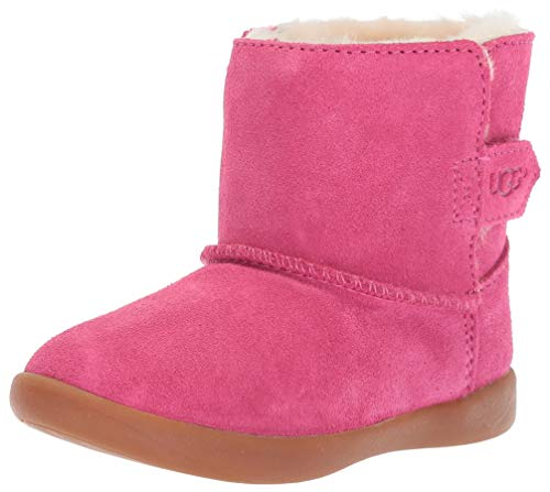 UGG Baby Keelan Ankle Boot, Pink Azalea, 4/5 M US Infant