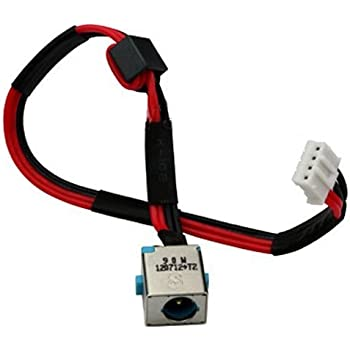 New AC DC Power Jack Plug Socket Cable Harness for Gateway NV52L NV52L03H NV52L06U NV52L08U NV51B27u NV56R NV56R04U NV56R06U NV56R10U NV56R11U NV56R14U NV56R21U NV56R22U NV56R23U NV56R24U NV56R32U NV56R38U NV56R14M