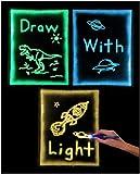 GlowSketch: Use Light to Draw - Glow in The Dark Drawing Sheet