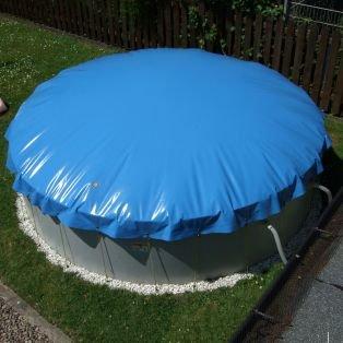 Aufblasbare Abdeckung für Rund Pool mit 450 cm Durchmesser