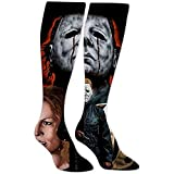 yantaiyu-sock Calcetines Para Mujer Calcetines Deportivos Mi-Chael My-Ers Calcetines Hasta La...