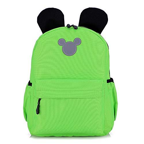 Children'S Backpack Mickey Mouse Ears Pure Color Small Backpack Children'S Backpack Waterproof Kindergarten School Bag Toddler Children'S School Bag