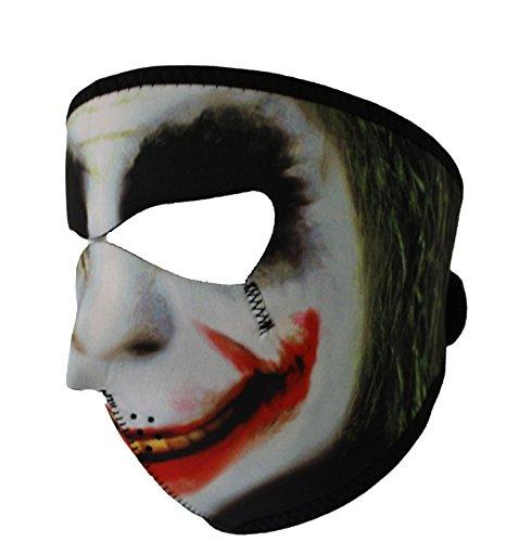g8ds® Neoprenmaske Joker, Vollmaske Sturmhaube Motorrad Ski Softair