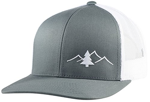 LINDO Trucker Hat - Great Outdoors Collection (Gray/White)