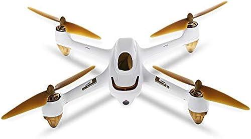 DingLong HD Luftaufnahmen Weißwinkel Kamera, Hubsan H501S X4 5.8G FPV Brushless mit 1080P HD Kamera GPS RC Quadcopter RTF, RC Spielzeug Hubschrauber Selfie Drohne 220  220  70mm