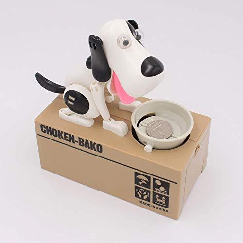 Goldenvalueable Dog Coin Money Box Cute Saving Bank