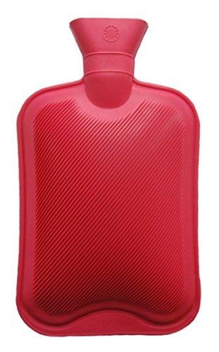 Vagabond Plain Red Hot Water Bottle, 2 L