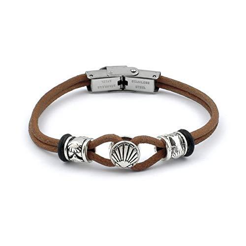 Jakobsweg [Bewahrer] Armband Leboreiro