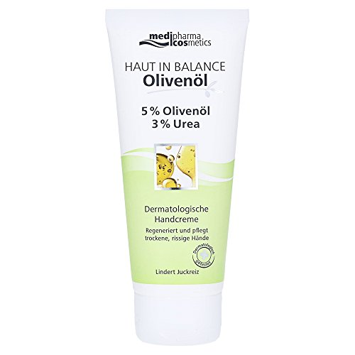 Dr. Theiss Naturwaren GmbH, Haut In Balance Olivenöl Handcreme 5 prozent, 100 milliliter