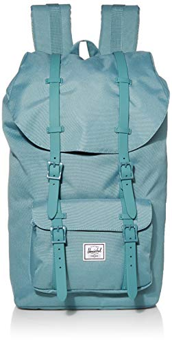 Herschel Little America Zaino, 25 litri, Taglia unica, Nero/Grigio (Dark Shadow/Black/Black rubber)