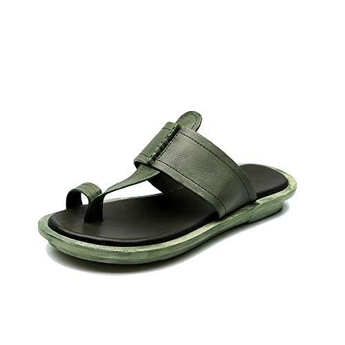 XCBW Sandalias ortopédicas cómodas para Mujer 2020 Zapatos de Verano de Cuero...
