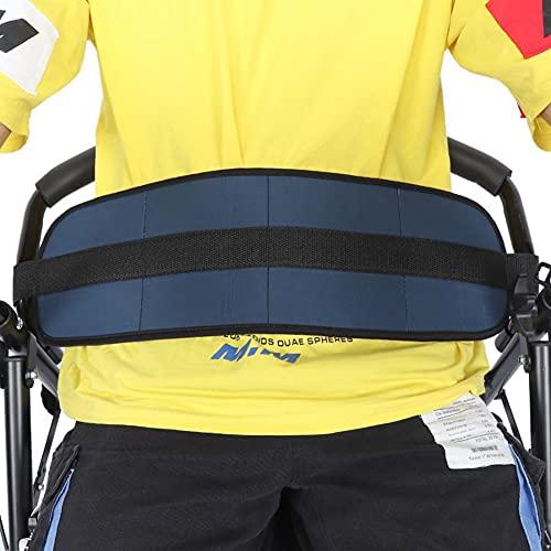 Cinturón de cojín suave Cinturón de seguridad para silla de ruedas Ajustable Arnés de seguridad Pacientes Cares Correa de sujeción Cinturones de seguridad acolchados