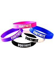 24 Pieces FORTNITE Party Supplies Bracelets Kids Video Game Birthday Party Favors Floss Like a Boss Silicone Wristband for Boys Girls Teens