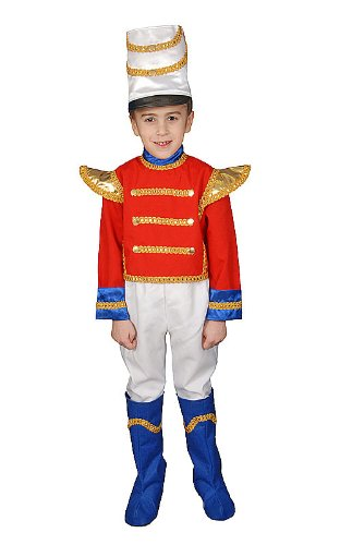 Dress Up America- Ensemble de Costumes De Luxe Soldat Jouet Deluxe, 293-XL, 14+ Ans (Taille: 90-109, Hauteur: 152+ cm)
