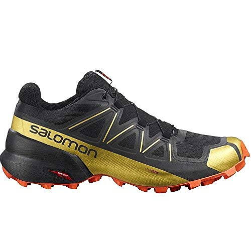 Salomon Speedcross 5LIMITED Edition Zapatillas Trail, Negro (Negro ), 41 1/3 EU