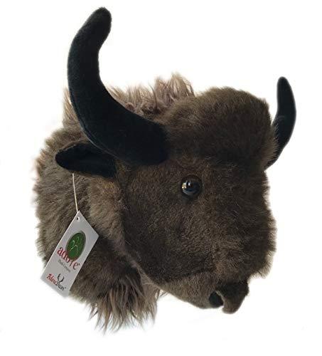 ADORE 12' Bill the Buffalo Stuffed Animal Plush Walltoy Wall Mount